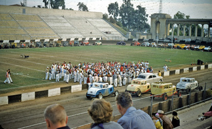 Balboa Stadium Auto Races