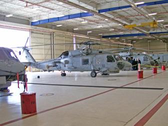ANA San Diego Squadron Visits HSL-43 December 4, 2009