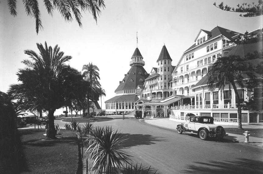 hotel del coronado circa 1930