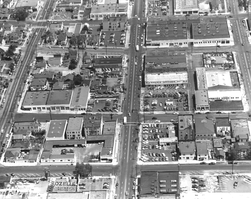 Downtown San Diego 1950