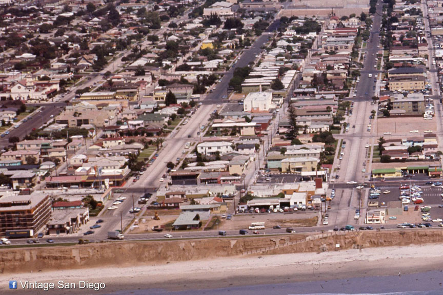 Bill Reid Aerials Of Pacific Beach Circa 1975